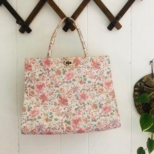 Dainty Florals Vintage Hand Bag